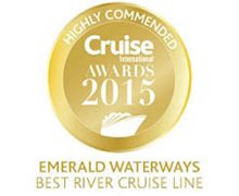 2015 Cruise International Awards - Best River Cruise Line - Highly Commended