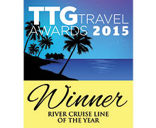 TTG Travel Awards - Best River Cruise Line 2015